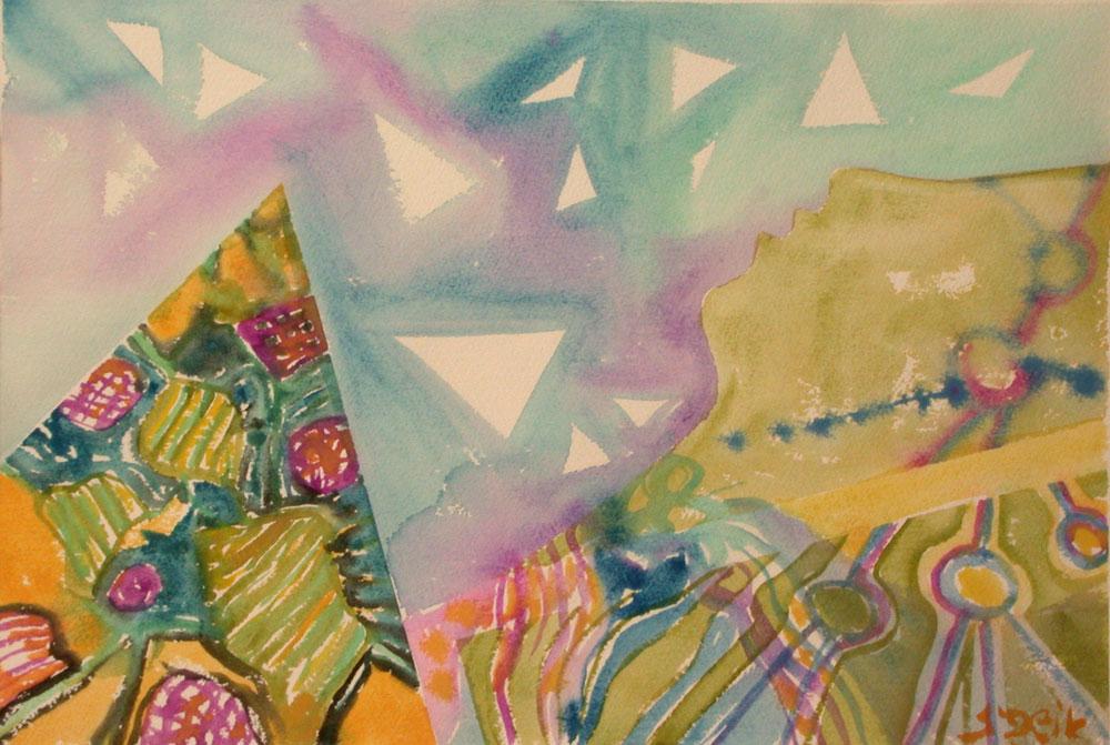 פירמידות Pyramids 46X32