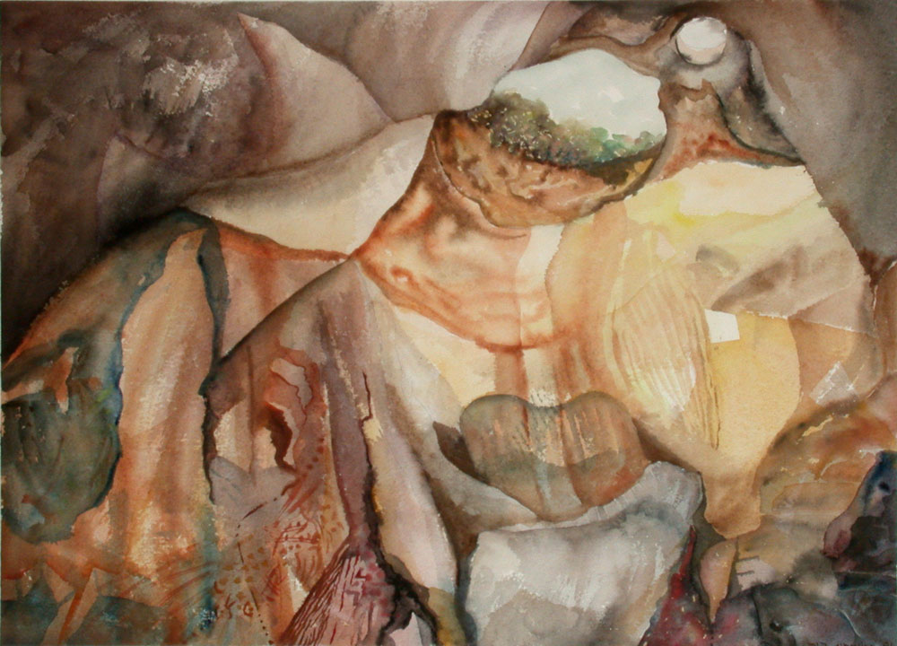 The Caves of the Soul 1 70X50