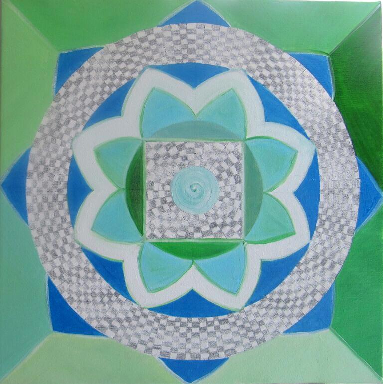 Green Energy Oil on canvas 40x40