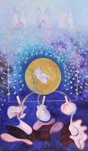 PANCHA KARMA Triptych 270cmx150cm