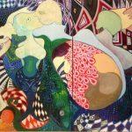 Oblivion תהום Oil on Canvas 150X100
